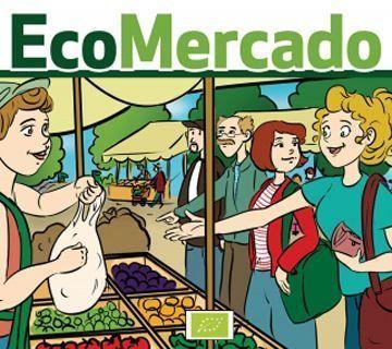 Mercadillo ecológico en la Sala Mercado