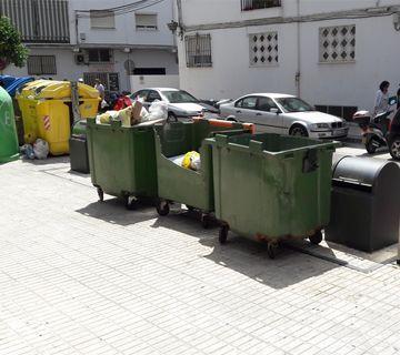 Problema con el soterramiento de las basuras