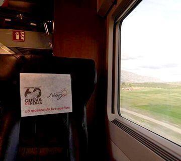 Nerja presente en el AVE hasta Madrid