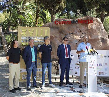 La Cueva acoge el Campeonato Andaluz de Espeleología