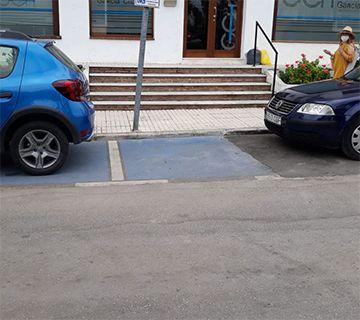 Aparcamiento movilidad reducida