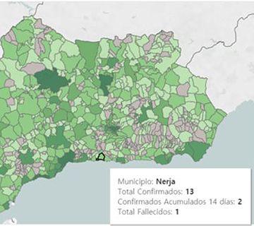 Nuevo caso de coronavirus en Nerja