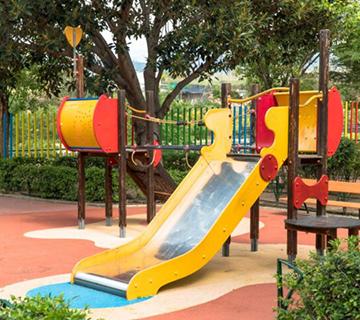 Vergüenza de Parque infantil Verano Azul